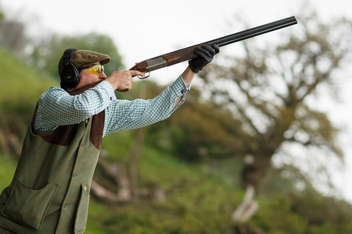 Clay Shooting at Cottesloe Heath Bisley